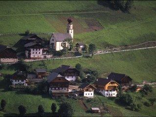 farm located in a quiet, sunny location overlooki
