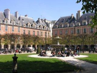 Appartement de charme au cœur du Marais