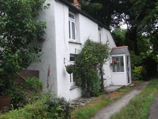 Beautiful Valley Cottage, nr sea, easy access to Cornwall,  family/dog friendly