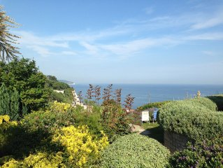 Stunning Sea Views, Large Gardens, Parking For Three Cars, Pet Friendly.