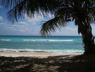 Beach Front Condo On Secluded Cove, St Lawrence Gap, Barbados