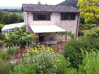 "Typical Tuscan Country House with Large Garden in the Natural Park ""Alta Merse"""