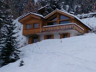 4Vallees Luxurious Chalet, 10 pers. Ski In & out; Wellness: Sauna and Jacuzzi