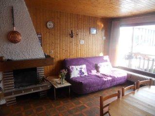 appartement dans petite residence a moins de 400 m du centre de Megeve