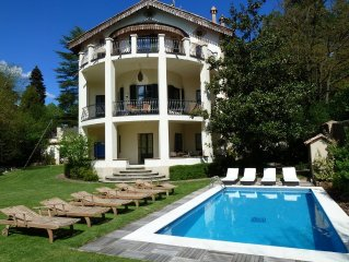 Large Private Villa, Pool, Centre of Village in National Park, Mountains