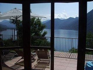 Private Villa Perched Over Argegno