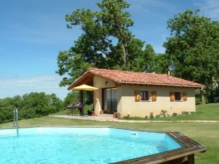 Peaceful Gite and Private Pool with Magnificent Panoramic Views
