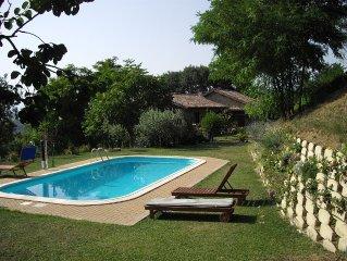 VILLA  in Relax USO ESCLUSIVO  Piscina - Parco - Ideala per Famiglie  bambini -