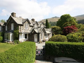 Rothay Lodge - in a quiet part of Grasmere with lovely gardens & glorious views