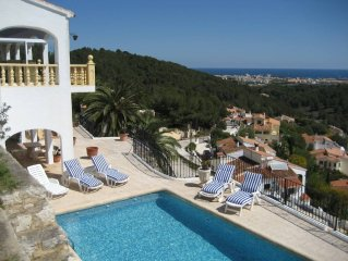 Javea: Nice villa, private swimming pool, 250 m2,