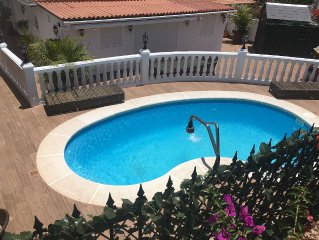 A SUPERB FAMILY FRIENDLY VILLA WITH ITS OWN PRIVATE HEATED POOL WITH WIFI