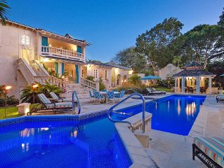 A 5 Bedroom Sandy Lane Villa Offering Privacy, A Superb Pool & The Beach Nearby