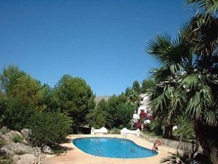 Traditional Spanish Bungalow with Views to Sea and Mountains Free Wi Fi - Sat TV