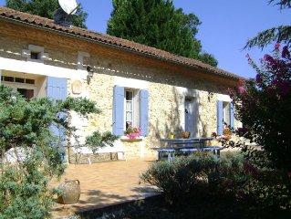 Maison familiale avec piscine dans le Perigord Vert.