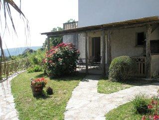 Maison avec jardin, entre mer et montagne