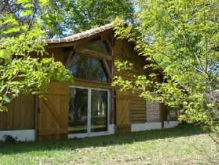 Magnifique grange-loft entièrement rénovée au charme fou, au milieu d'un parc de