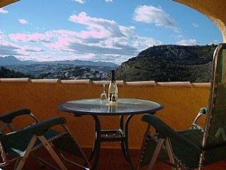 Apartment With Stunning Views Of The Sierra Bernia Mountain Range