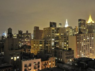 New York City, Midtown 2 Bedrooms, Sleeps 6 Amazing Views of NYC