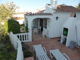 Detached Villa, Air Conditioned, sea views, quiet location, communal pool