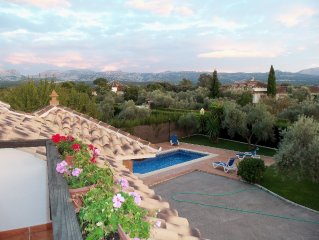 Best luxury villa in Ronda. Wonderful mountain views