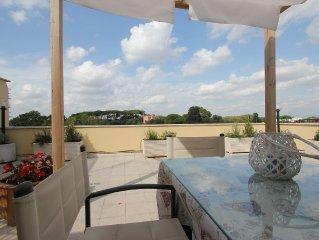 TERRAZZA PAMPHILI Casa Vacanze :  Super Cozy Roof top - TrY Me!!