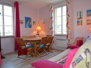 Appartement avec vue sur mer au coeur de Veules les Roses