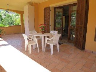 Appartamento in villa con quiete e giardino