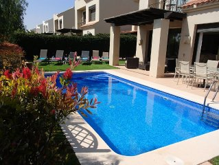 3 Bed Villa With Private Pool Overlooking The 14th Fairway