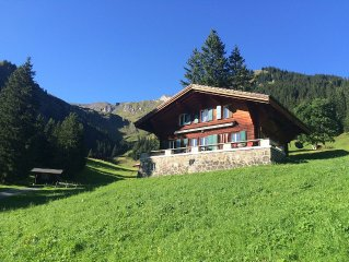 Family friendly, charming, traditional Swiss Alpine Chalet
