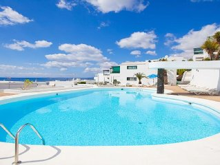 Beautiful 1 Bed Apt  With Stunning 180 Degree Views Of the Sea & Fuerteventura