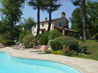 The Chapel San Martino - Private Villa with Pool on  the Tuscan/Umbrian border