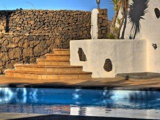 Con piscina privada , adaptada para personas con movilidad reducida