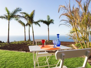 Sea view, sunset, large terrace, private garden,