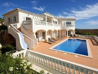 Deluxe Four Bedroom Villa With Private Pool and Games Room with pool table.