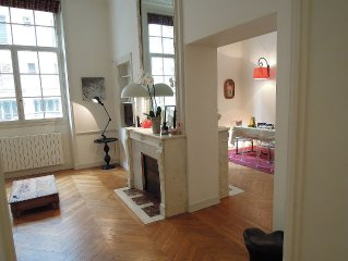 5Pers100m2 Quiet Apartmt (In) Central Paris Design decoration - Arc de Triomphe