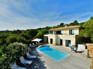 Villa Vue Mer 180° - Piscine chauffee - Plages a 2 min - Calme et sans vis a vis