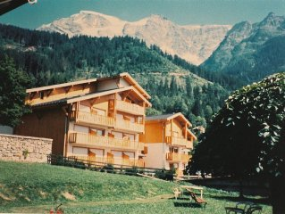 South-west Facing Apartment with Balcony In Beautiful Traditional Alpine Village
