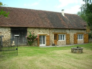 Independent, peaceful & luxurious cottage in unspoilt heart of France