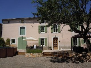 Stunning 400yr old farmhouse near Carcassonne AVAILABLE NOW for Summer. Call us