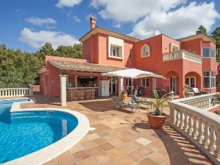 Villa Breathtaking Views, Heated Pool, Nr. Portals Nous, South West Mallorca