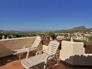 Villa on Los Molinos,La Manga Club Resort, Costa Colida, vacation rental in Portman