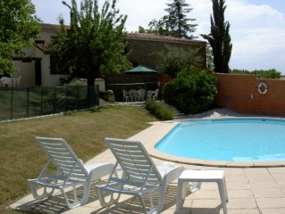 Charming Village House near Carcassonne with large Garden & Private Pool