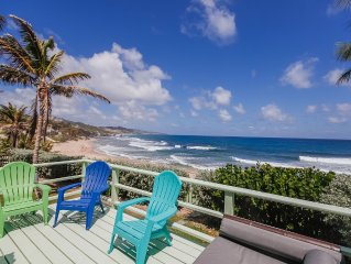 Ry's on the Beach on Soupbowl Surf Break in Bathsheba - Beach front at its best!