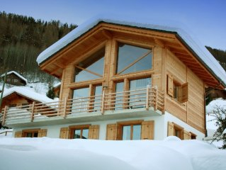 Exquisite modern Chalet in the Heart of 4 Valleys/Verbier Ski Region