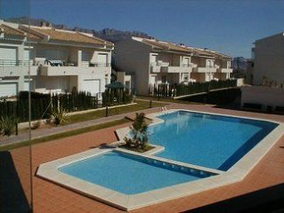 Apartment with Shared Pool, Lovely Gardens and Mountain Views