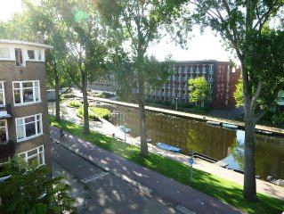 !! FANTASTIC VIEW !! on typical canals & park, clean, comfort, great location!