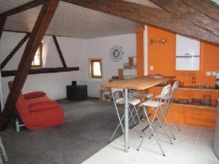 Appartement dans maison typique alsacienne
