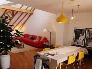 Esclusivo attico con terrazza sul tetto nel cuore di Bolzano