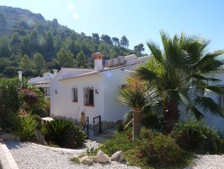 Modern Two Bedroomed Villa With Private Pool, Gardens, Aircon & Stunning Views