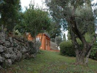 Porto Santo Stefano: Villino con ampio giardino vista splendida